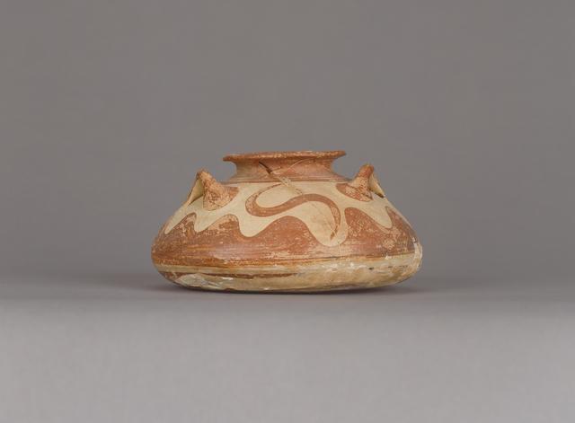 'Squat Alabastron',  about 1400 -1350 B.C., J. Paul Getty Museum