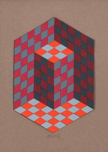Victor Vasarely, 'Composition', circa 1967, Heritage Auctions