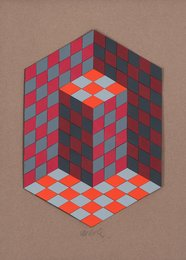 Victor Vasarely, 'Composition,' circa 1967, Heritage Auctions: Modern & Contemporary Art