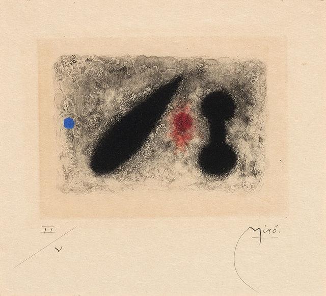 Joan Miró, 'Fusées (D. 249)', 1959, Doyle