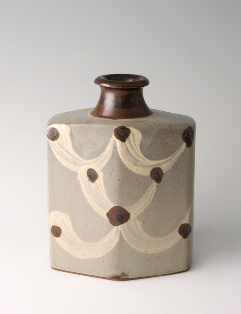 , 'Bottle, ji glaze with hakeme decoration,' , Pucker Gallery
