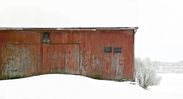 , 'Red Barn 6,' 2017, West Branch Gallery