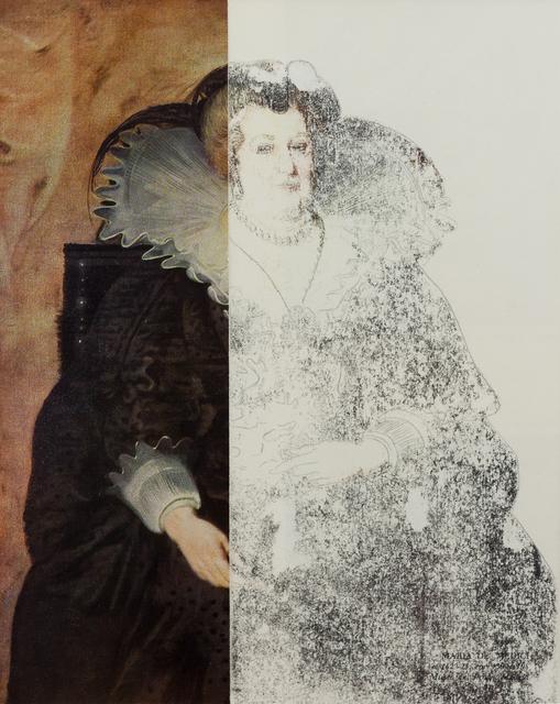 , 'Ritratto di Maria dei Medici,' 2014, Keitelman Gallery