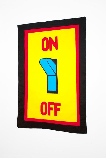 , 'ON/OFF,' 2015, Emily Davidson + Stuart Lorimer