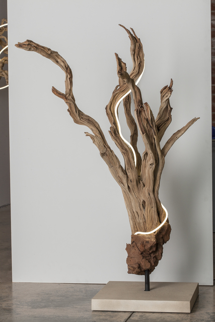 , 'Untitled Wood Series #2,' 2014, Voltz Clarke