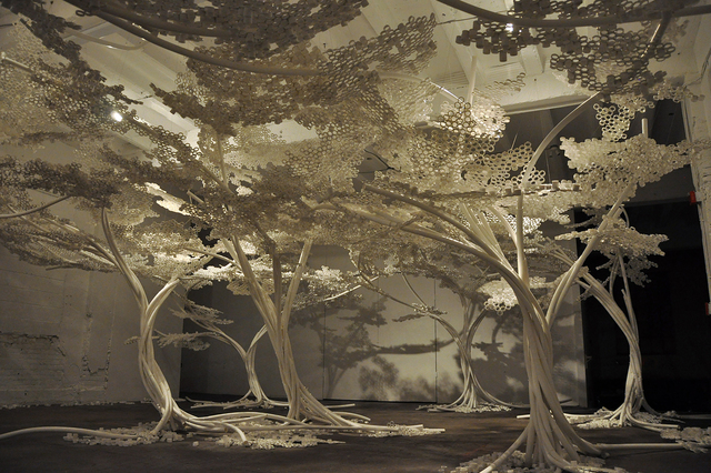 , 'PP Tree Installation,' 2011, Industry Gallery