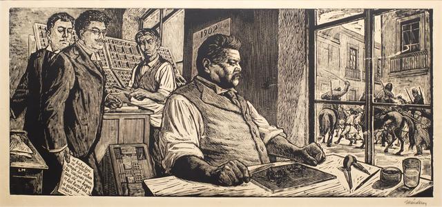 , 'Posada in His Workshop (Homage to Posada),' 1956, Hecho a Mano