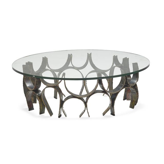 Paul Evans, 'Upside Down Loop coffee table, New Hope, PA', 1960s, Rago