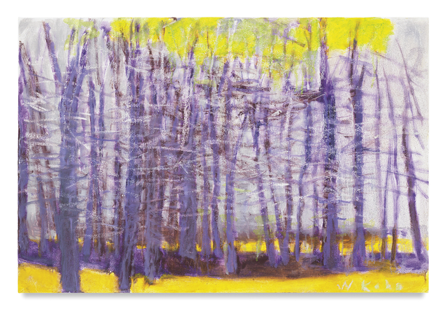 , 'Purple Trees,' 2015, Miles McEnery Gallery