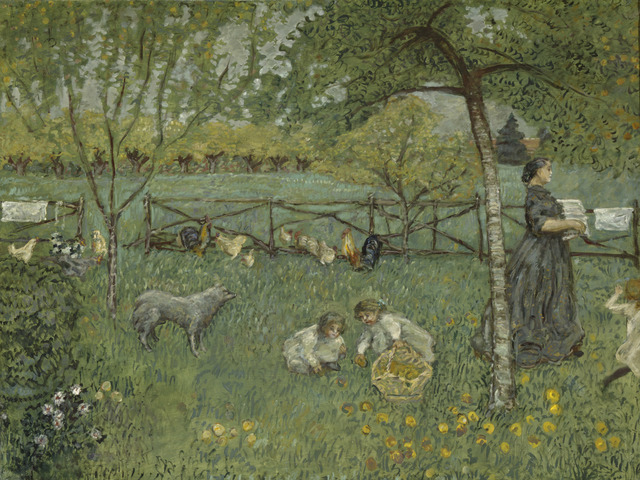 , 'Le grand jardin (The Large Garden),' 1895, Musée d'Orsay