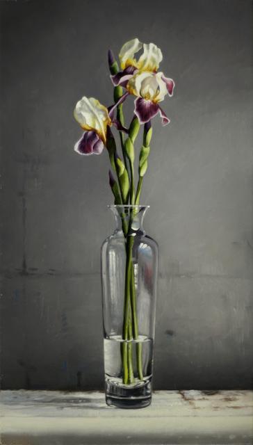 , 'Iris,' 2017, William Baczek Fine Arts
