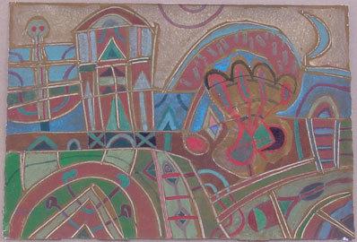 Guillermo Pacheco, 'Paisaje nocturno', 1996, Galería Quetzalli