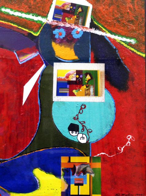 Eugene James Martin, 'F.B.I.', 1998, Eugene Martin Estate