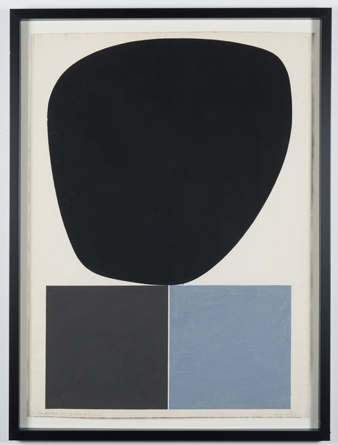 , 'Ovidal Form With Gry Squares,' 1960, RCM Galerie