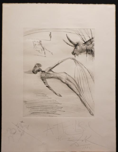 Salvador Dalí, 'La Cogida y la Muerte with Original Drawing', 1972, Fine Art Acquisitions