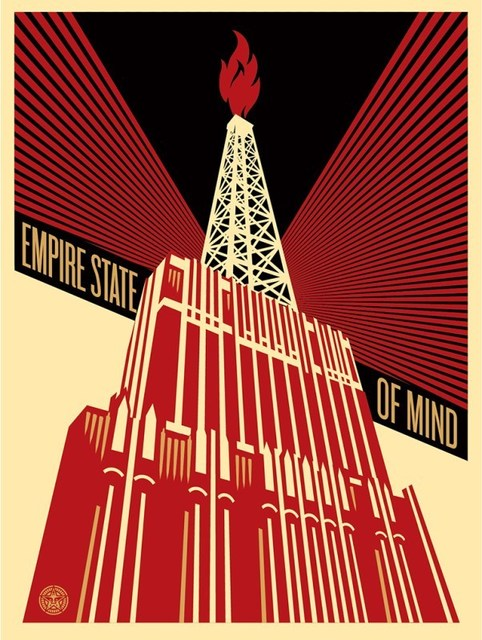 Shepard Fairey (OBEY), 'Empire State Of Mind', 2014, Dope! Gallery