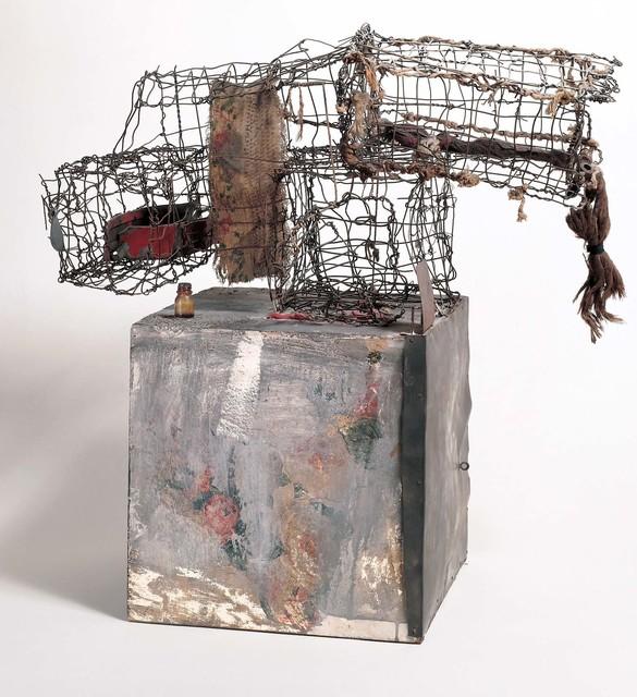 Robert Rauschenberg, 'Three Traps for Medea', 1959, Robert Rauschenberg Foundation