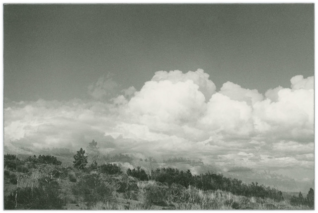 , 'Untitled (4.5 billions years a lifetime, cloud view),' 2019, Casemore Kirkeby