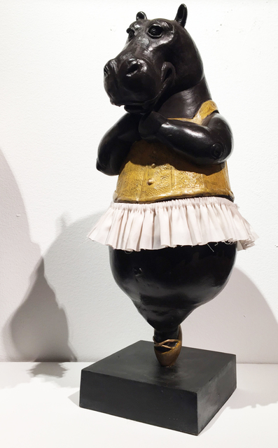 , 'Hippo Ballerina, en pointe, maquette,' 2017, Cavalier Galleries