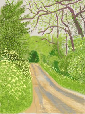 , 'The Arrival of Spring in Woldgate, East Yorkshire, 2011,' 2014, Galerie Maximillian