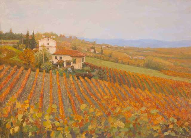 , 'Vineyard in Tuscany,' 2018, Catto Gallery