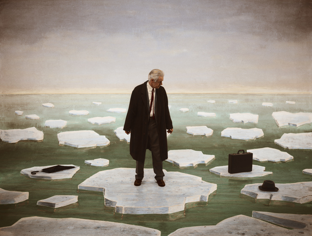 , 'Untitled nr.204 (Man on Ice),' 2003-2014, Paci contemporary