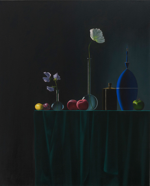 , 'Line of Objects,' 2018, Leslie Sacks Gallery
