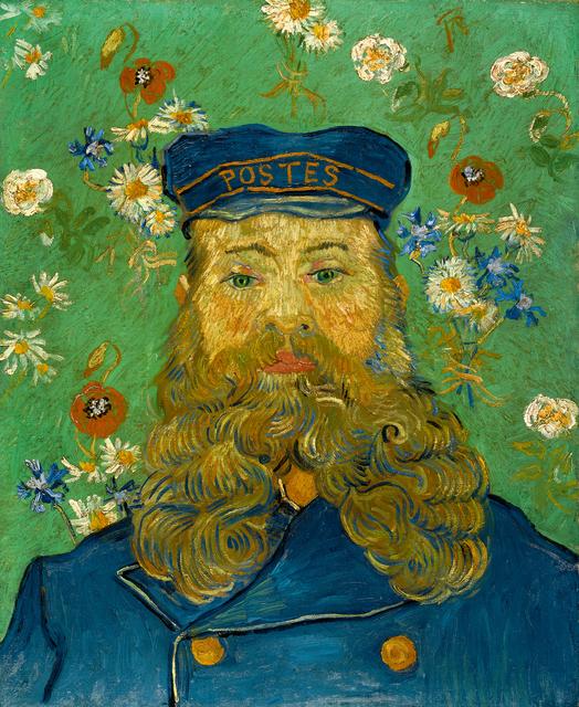 Vincent van Gogh, 'Portrait of Joseph Roulin', 1889, Kröller-Müller Museum