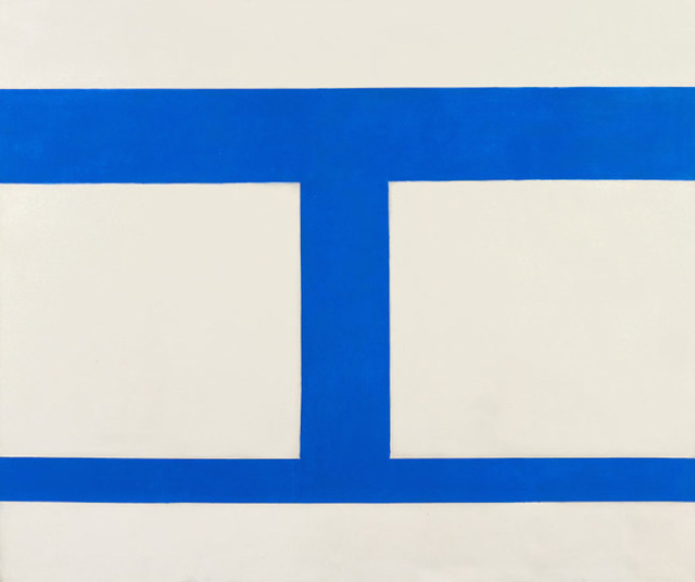 , 'Cool Series No. 44 (Double Square),' 1961-1963, Berry Campbell Gallery