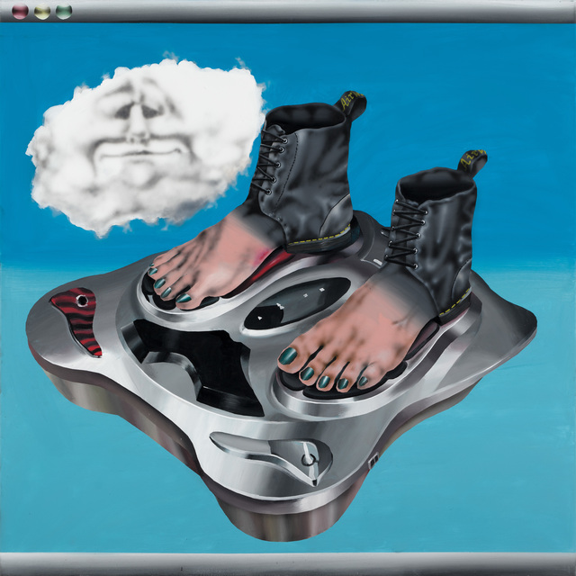 , 'Tired boots(after Magritte),' 2018, Future Gallery