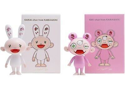 Takashi Murakami, 'Kaikai & Kiki', 2018, Sculpture, Plastic, Lougher Contemporary Gallery Auction