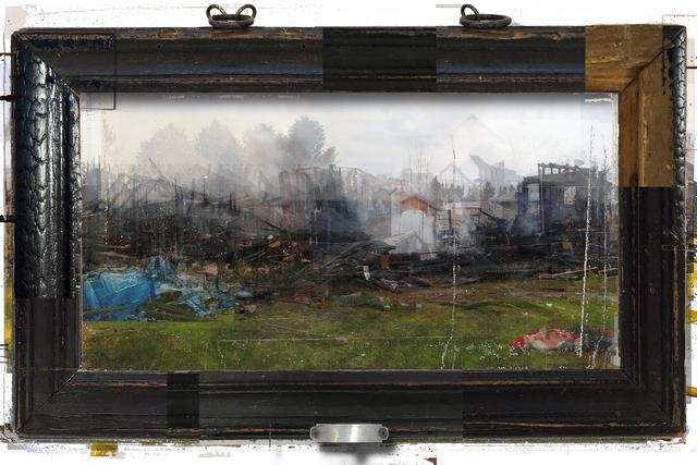 , 'Video Frame: Fire,' 2018, Catharine Clark Gallery