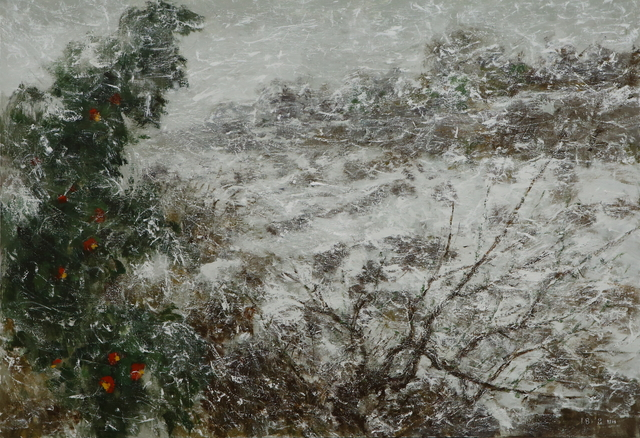, 'Snowstorm,' 2018, Hakgojae Gallery