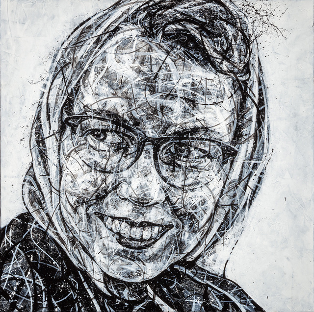 , 'Flannery O'Connor,' 2018, Angela King Gallery