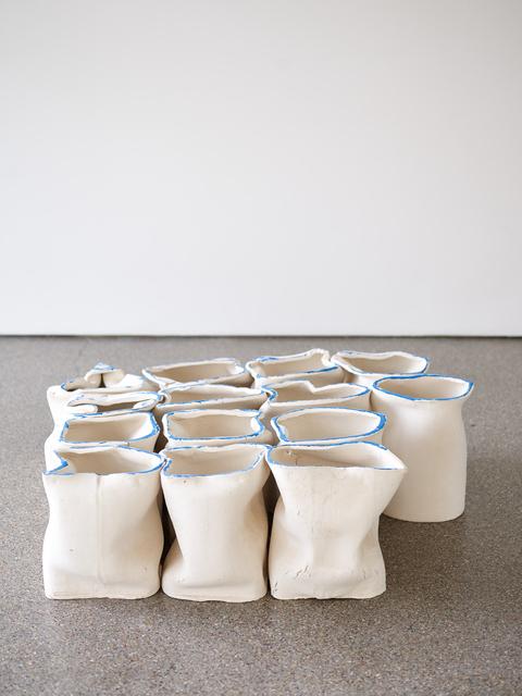 , 'April Sculpture (big blue),' 2016, Galerie Greta Meert