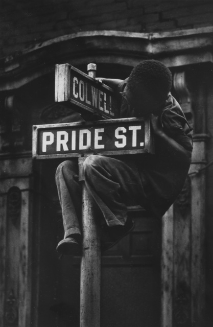 , 'Pride Street, from Pittsburgh,' 1955, Etherton Gallery