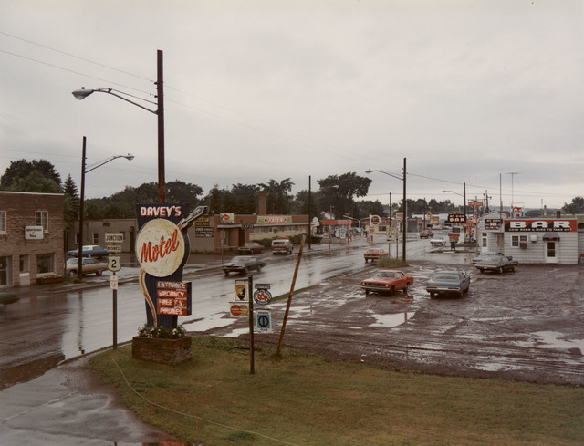 , 'U.S. 2, Ironwood, Michigan, July 9, 1973,' 1973, Edwynn Houk Gallery