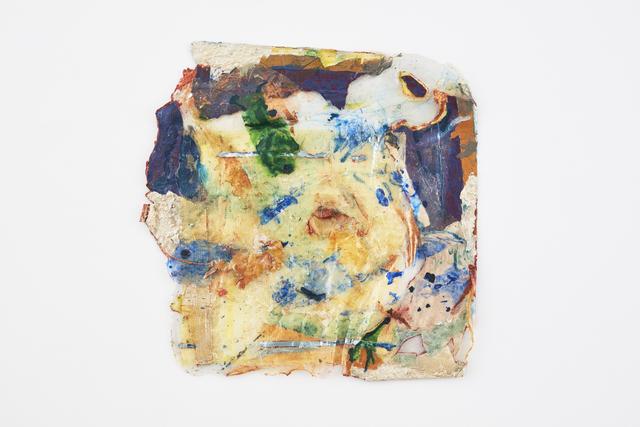 Suzanne Jackson, 'fo-day, itself', 2017, Mixed Media, Acrylic on acrylic, net produce bag, paper, BOMB Magazine Benefit Auction