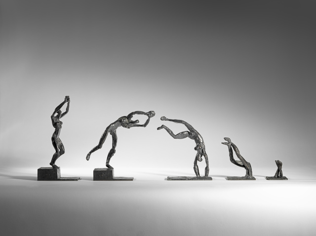 , 'Diving woman, set of 5,' 2019, Sladmore Contemporary