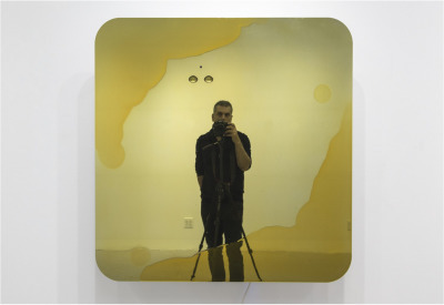 , 'Golden Robot,' 2019, Josée Bienvenu