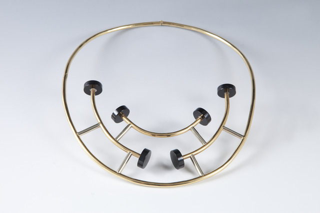 , 'Gold and black onyx necklace,' 1984-1986, Didier Ltd.