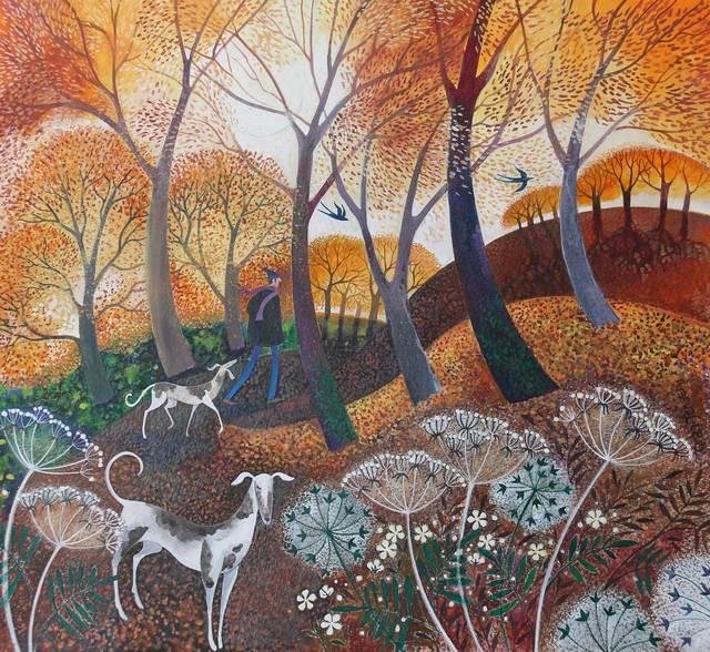, 'Autumn on the Common,' , Mall Galleries