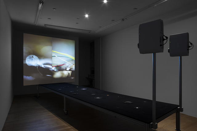 , 'Cutting Corners Creates More Sides,' 2012, bitforms gallery