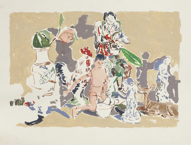 , 'Untitled (Manikin Man with Figurines),' 1974, Nancy Hoffman Gallery
