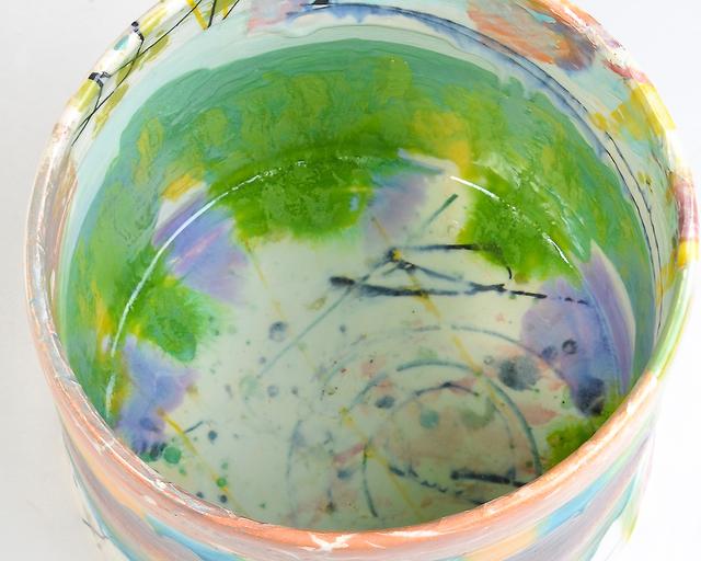 Lauren Mabry, 'Cylinder 20.02', 2020, Sculpture, Earthenware, slip, glaze, Ferrin Contemporary