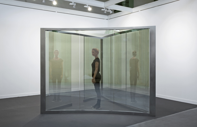 Dan Graham, 'Zany Triangle', 2014, Installation, Stainless steel and two-way mirror, Galleri Nicolai Wallner