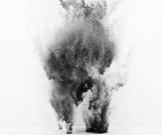 , 'Exploding Powder Movement: Black and White,' , ArtStar