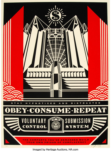 Shepard Fairey (OBEY), 'Church of Consumption', 2017, Heritage Auctions