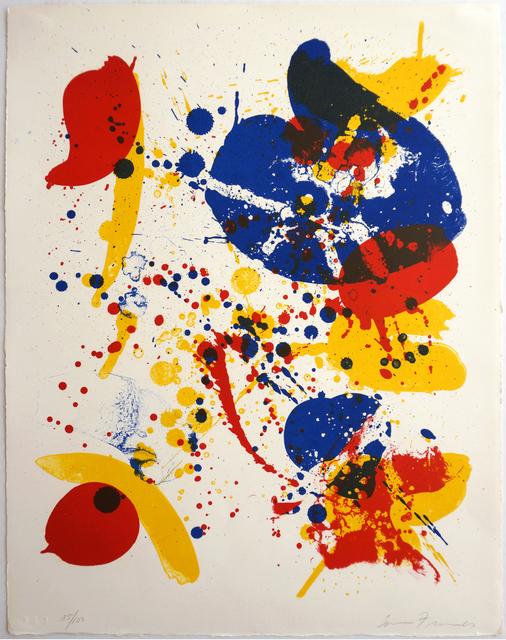 Sam Francis, 'An 8 Set - 6', 1963, Robert Green Fine Arts