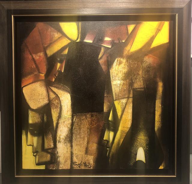 Paresh Maity, 'Quadratic Reunion', 2018, Art Pilgrim